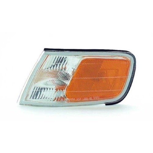 Go-Parts » OE Replacement for 1994-1997 Honda Accord Side Marker Light Assembly/Lens Cover - Front Left (Driver) Side 34350-SV4-A02 HO2550109