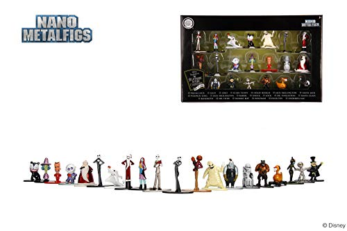 Nano Metalfigs 30122 Disney Nightmare Before Christmas Wave 1 Metals Die-Cast Collectible Figures, 1.65