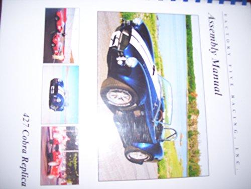 Assembly Manual, 427 Cobra Replica