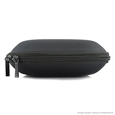 SONY MDR-ZX100, ZX300, ZX310, XB200, ZX102DPV, Sennheiser HD219, HD229, HD239, HD218 Headphones Full Size Hard Carrying Case / Travel Bag with Space for Cable, AMP, Parts and Accessories