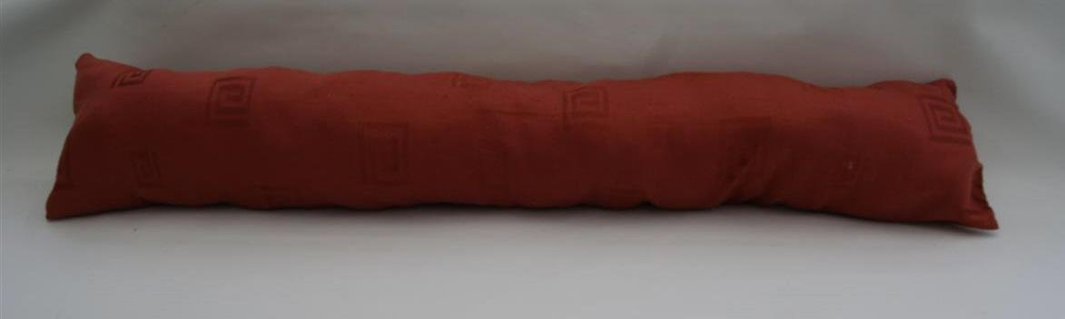 Traditional Draught Excluder Terracotta Colour For Doors 40
