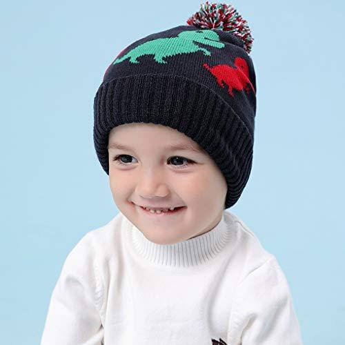 Chapeau Acmede Bonnet Enfants Dinosaure Hiver OYfUYqH