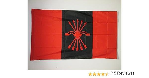 AZ FLAG Bandera de la FALANGE ESPAÑOLA DE Las JONS 150x90cm para ...