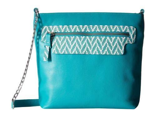 SAS(サス) レディース 女性用 バッグ 鞄 バックパック リュック Giselle - Turquoise/Chevron [並行輸入品]   B07JM17MTL