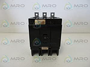 GHB3020 Westinghouse GHB, 20 Amp, 3 Pole, 480 Volt, Molded Case ...