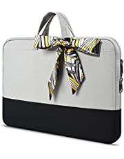 Laptop Briefcase for Women Ladies, Black, 14-15 Inch,
