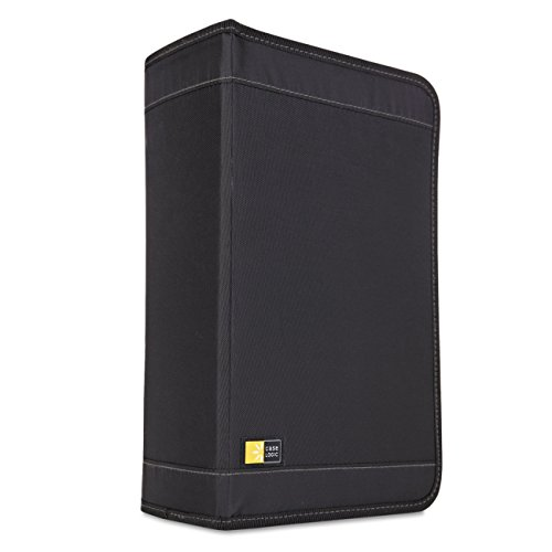 Case Logic CDW-128T CD Wallet (Black, (200 Cd Case)