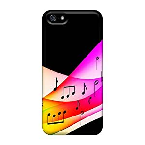 5/5s Scratch-proof Protection Cases Covers For Iphone/ Hot Colorful Music Phone Cases