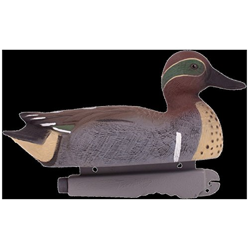 Winged Duck Green Teal - Tanglefree Waterfowl Pro-Series Green Winged Teal Duck Decoys, 12-Inch