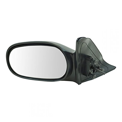 Manual Remote Side View Door Mirror Left LH Driver Side for 98-02 Toyota Corolla ()