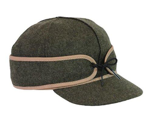 Stormy Kromer Men's Mackinaw Wool Cap,Green,7.5