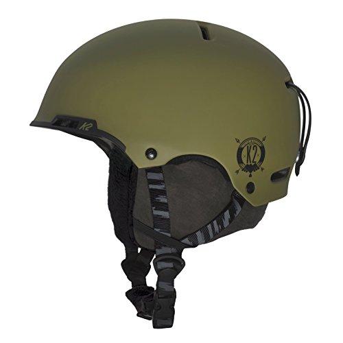 K2 Stash Ski Helmet, Moss,