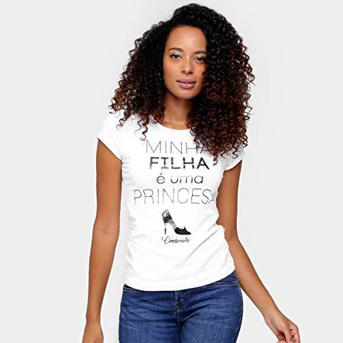 Camiseta Brandili Tal Mãe Princesa - Branco - M