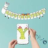 Joy Day Llama Banner Happy Birthday Banner Llama