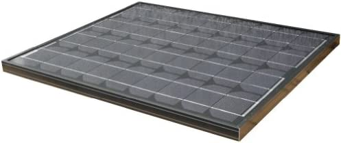 50Watt Solarpanel SCHWARZ BLACK 12Volt