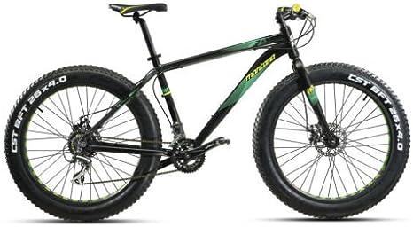 Bike Montana Vektor Fat 26 Acera 2X8 Disc - Bicicleta de montaña, talla 48: Amazon.es: Amazon.es