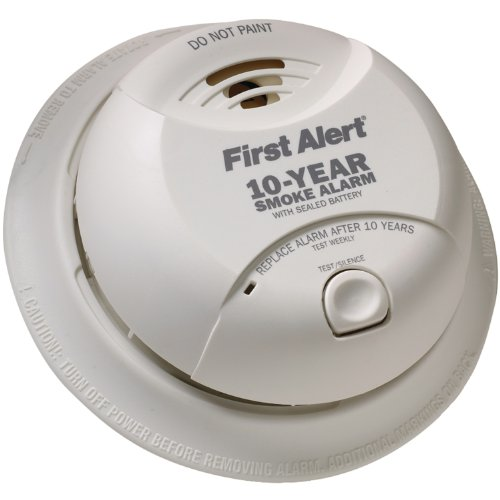 First Alert SA10YR 10 Year Lithium Power Smoke Detector
