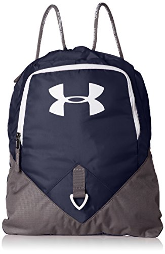Under Armour Undeniable Sackpack, Midnight Navy (410)/White, One Size Fits All (Cinch Pack Under Armour)