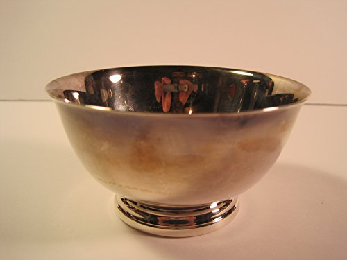 - Oneida Paul Revere Reproduction, Small Silver-Plated Bowl, 4 Inches