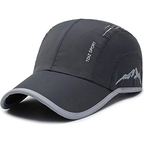 Clape UV Protection Outdoor Cap Summer Reflective Baseball Hat Running Golf Caps Sun Hats Quick Dry Lightweight Ultra ThinMesh Sports Cap
