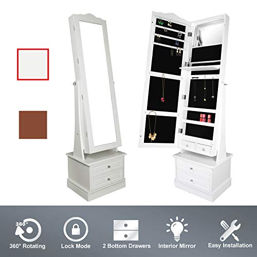 Compare Price Swivel Mirror Storage On Statementsltd Com