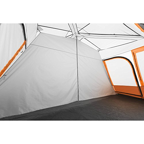 Instant Cabin Tent for 14 Persons with 2 Rooms and Windows Includes