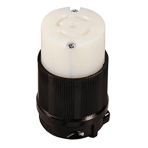 OCSParts L21-30R Grounding Locking Connector, 30A 120/208V AC, 4 Pole 5 Wire, cUL Listed, NEMA L21-30