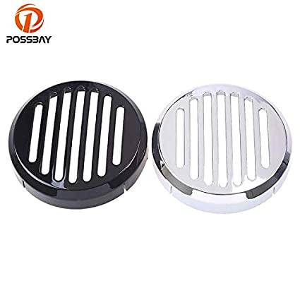 Motorcycle Chrome Grill Horn Cover Cap Fit Honda Shadow VT 750 600 Deluxe Spirit