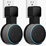 Outlet Wall Mount Holder Compatible with Dot 3rd Generation, A Space-Saving Solution for Your Smart Home Speaker, Clever Dot Accessories with Built-in Cable Management Hide Messy Wires(2 Pack)…