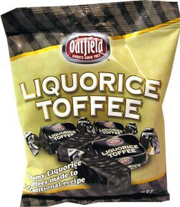 Oatfield Irish Licorice Toffee / Irish Liquorice Toffee 160g