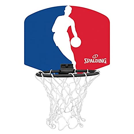 Spalding NBA Logoman (77-602Z) Minicanasta, Unisex niños, Azul ...