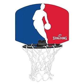nuova selezione miglior sito moda più desiderabile Spalding NBA Mini Board, 77-602Z, Mini canestro, motivo: sagoma di uomo