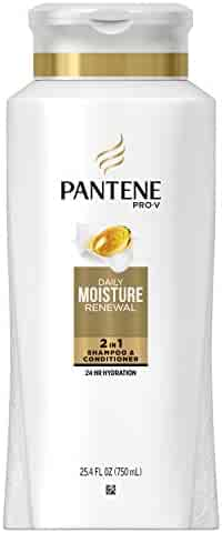 Pantene Pro-V Daily Moisture Renewal 2in1 Shampoo and Conditioner 25.4 fl oz - Moisturizing 2 in 1 Shampoo and Conditioner