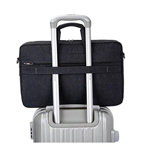 Computer As Bag Sunwanyi Messenger Picture 1 Waterproof Briefcase Nylon Laptop The Case Shoulder 105zqxg0