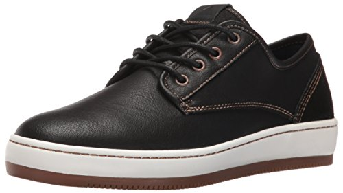 ALDO Mens Etiari Fashion Sneaker, Black Leather, 7.5 D US