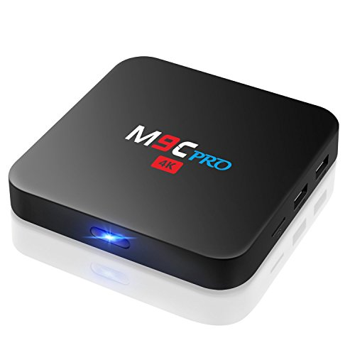 TICTID M9C Pro Android 6.0 TV Box 4K Amlogic S905X Chipset Q