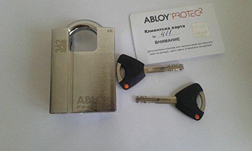 Abloy Padlock Steel padlock with raised shoulder Grade 4 - 1