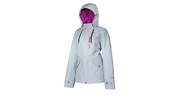 Klim Aria de esquí para mujer nieve chaqueta - gris/pequeño ...