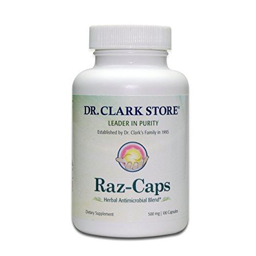 Dr. Clark Raz-Caps Supplement, 500mg, 100 (Rascal 100 Capsules)