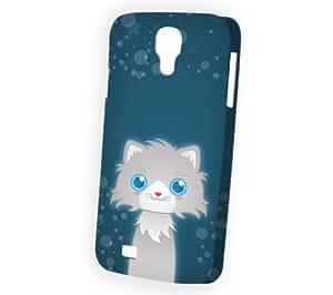 Case Fun Samsung Galaxy S4 (i9500) Case - Vogue Version - 3D Full Wrap - Persian Cat by DevilleART