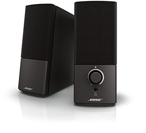 Bose Companion 2 Series III Multimedia Speakers - for PC (with 3.5mm AUX & PC input) (Best Desktop Speakers With Subwoofer)