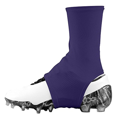 Dmaxx Spats Football Cleat Covers (Purple, Large)