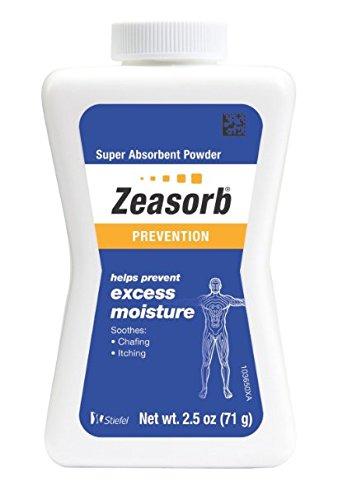asorb Super Absorbent Powder 2.5 oz (70.9 g) (Antifungal Absorbent Powder)