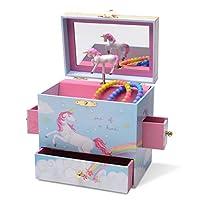 JewelKeeper Musical Jewelry Box 3 Drawers