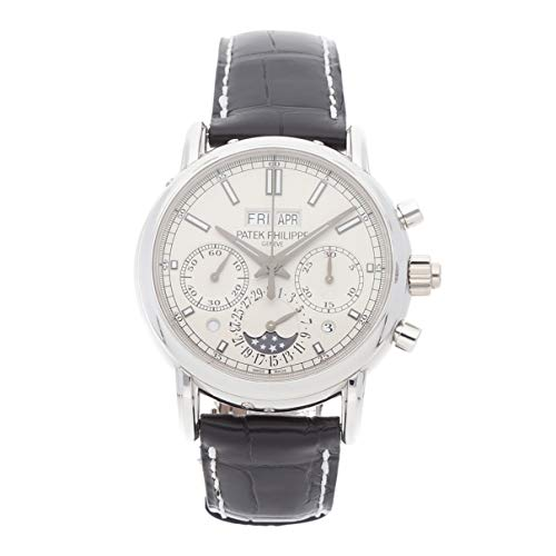 Patek Philippe Grand Complications Mechanical (Hand-Winding) Silver Dial Mens Watch 5204P-001 (Certified Pre-Owned) ()
