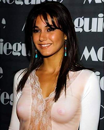 No Image is Cropped What you see is what you get #EC087 No white or black borders Emmanuelle Chriqui 8x10 photo