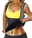 Eleady Womens No Zipper Hot Sweat Slimming Neoprene Shirt Vest Body Shapers (M Fits 30.3-32.6...