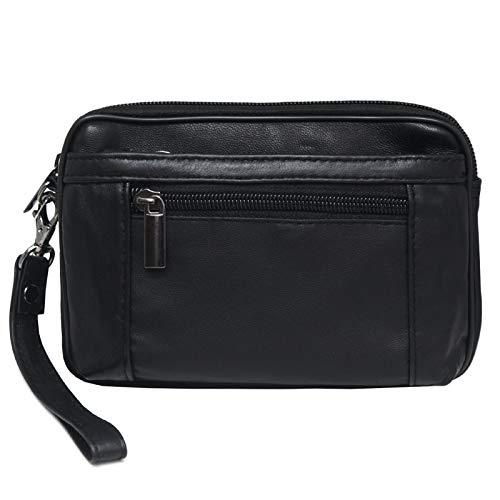 Handbag Purse Waist Bag Wallet Cellphone Phone Case Pouch Travel belt Bag Mens Fanny Pack 2040 ()