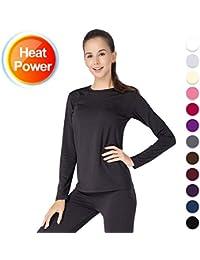 Thermal Underwear for Women Long Johns Set Fleece Lined...