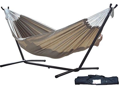 [해외]Eclipse Collection Vivere 's Combo - 스탠드가있는 Sunbrella® Sand 해먹 (9ft)/Eclipse Collection Vivere`s Combo - Sunbrella® S